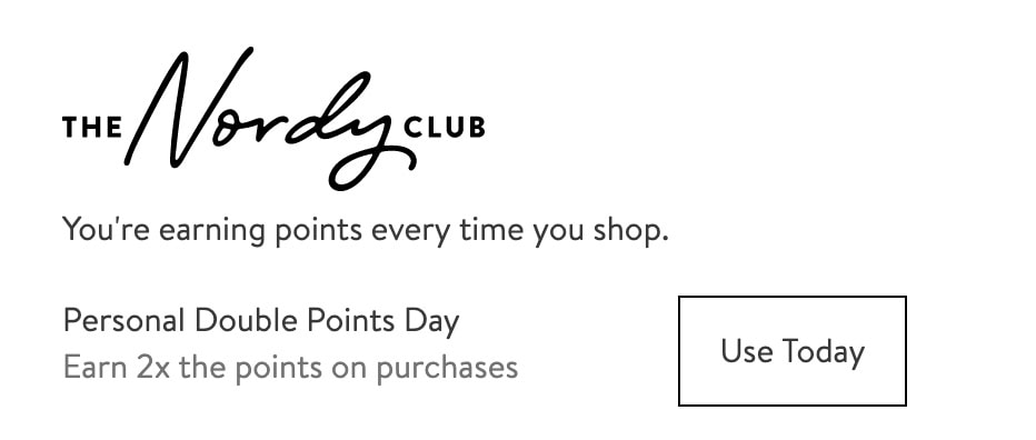 Nordstrom Triple Points Day now Double Points Day
