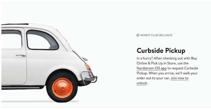 Nordy Club Curbside Pickup