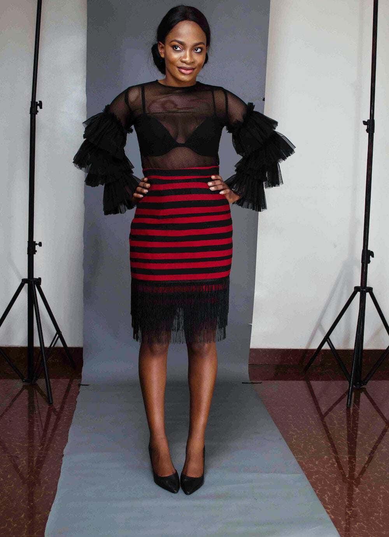 Oyo Aso Oke Skirt by Boriah Clothiers 21