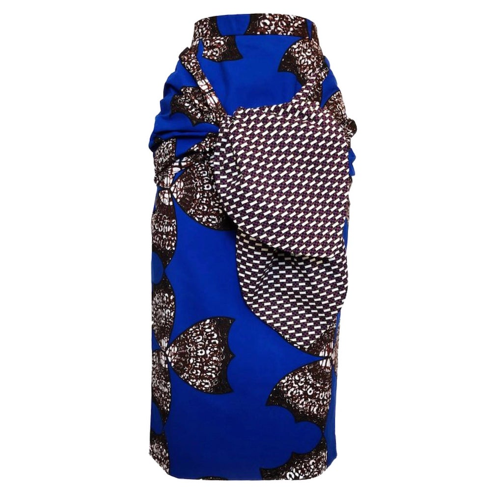 Taye Midi Pencil Skirt by Yetunde Sarumi 10