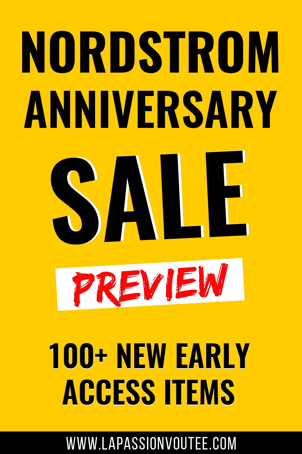 100+ NEW Early Access Nordstrom Anniversary Sale 2019 Preview Items