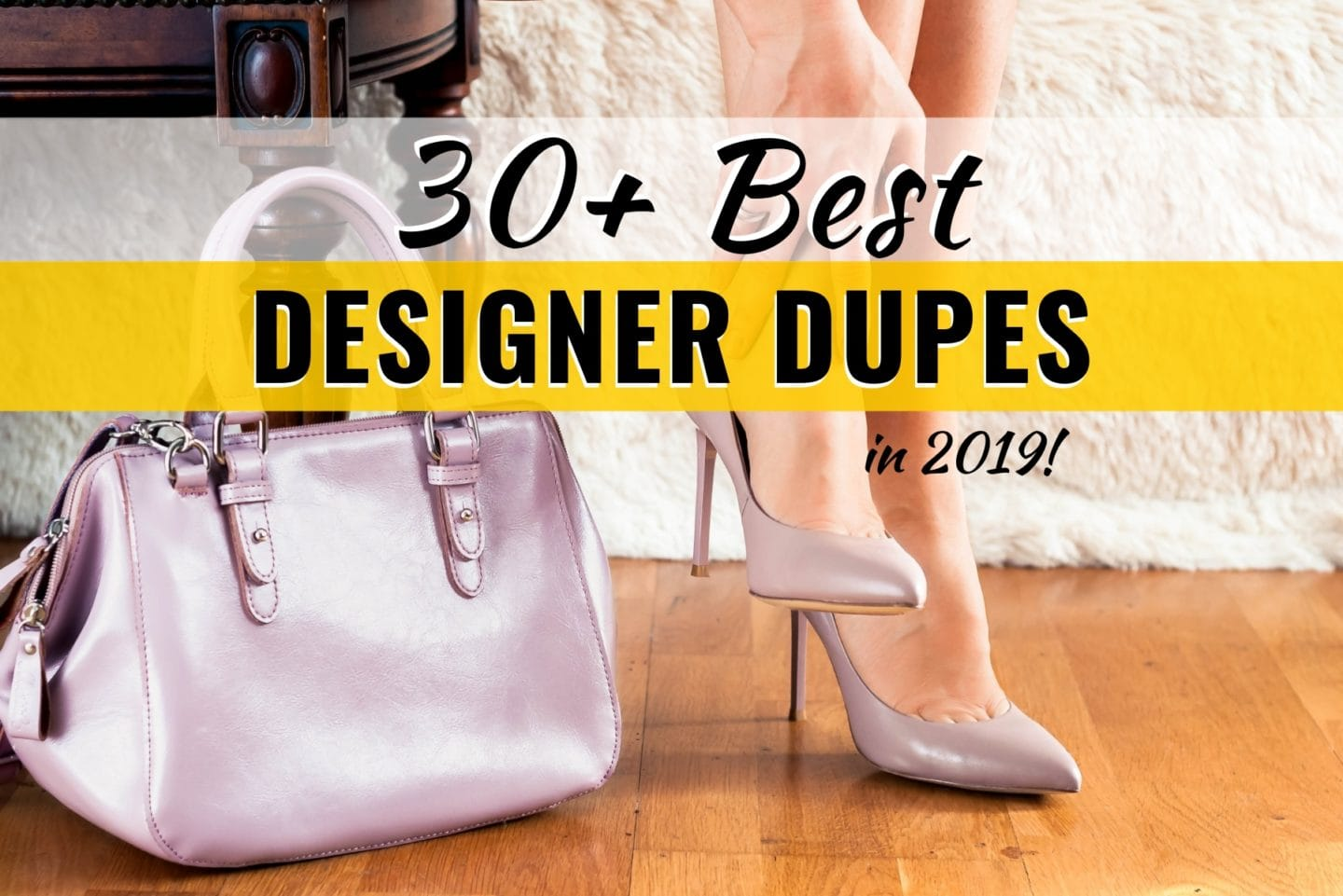 Before you give up, read THIS post first! The ultimate roundup of the best luxury-inspired shoes, handbags, jewelry and sunglasses. These are the best designer look alikes from Gucci dupes and Birkenstock look alikes, to Baublebar inspired earrings and more. This is really the best designer inspired pieces at a fraction of the cost.