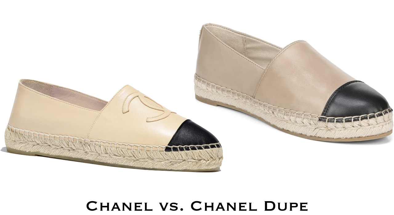 This $700+ Chanel espadrilles made from genuine lambskin has met its match.