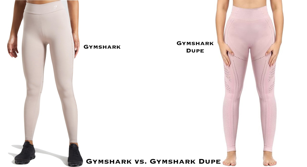 After much research (and shopping), these are the ultimate leggings dupes for Gymshark Flex, Vital, Camo, Fit and Vital leggings on Amazon and many more. #fitnesswear #workoutclothes