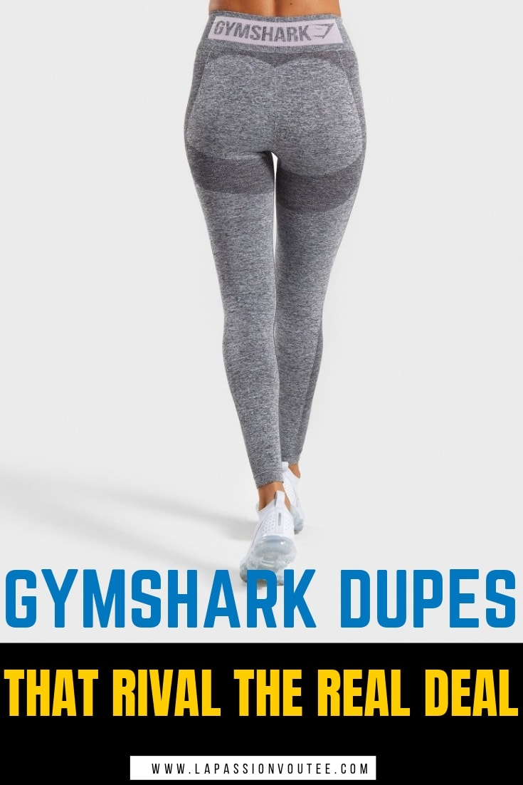 A roundup of the best Gymshark dupes on Amazon that give Gymshark leggings a run for the money. These Gymshark inspired leggings cost a fraction of the price and hold up throw the squat test and high-impact use. Discover look alikes for Gymshark Flex, Fit, Camo, Legacy, Vital and more. Even dupes for Lululemon leggings and Alphalete! #dupes #gymshark