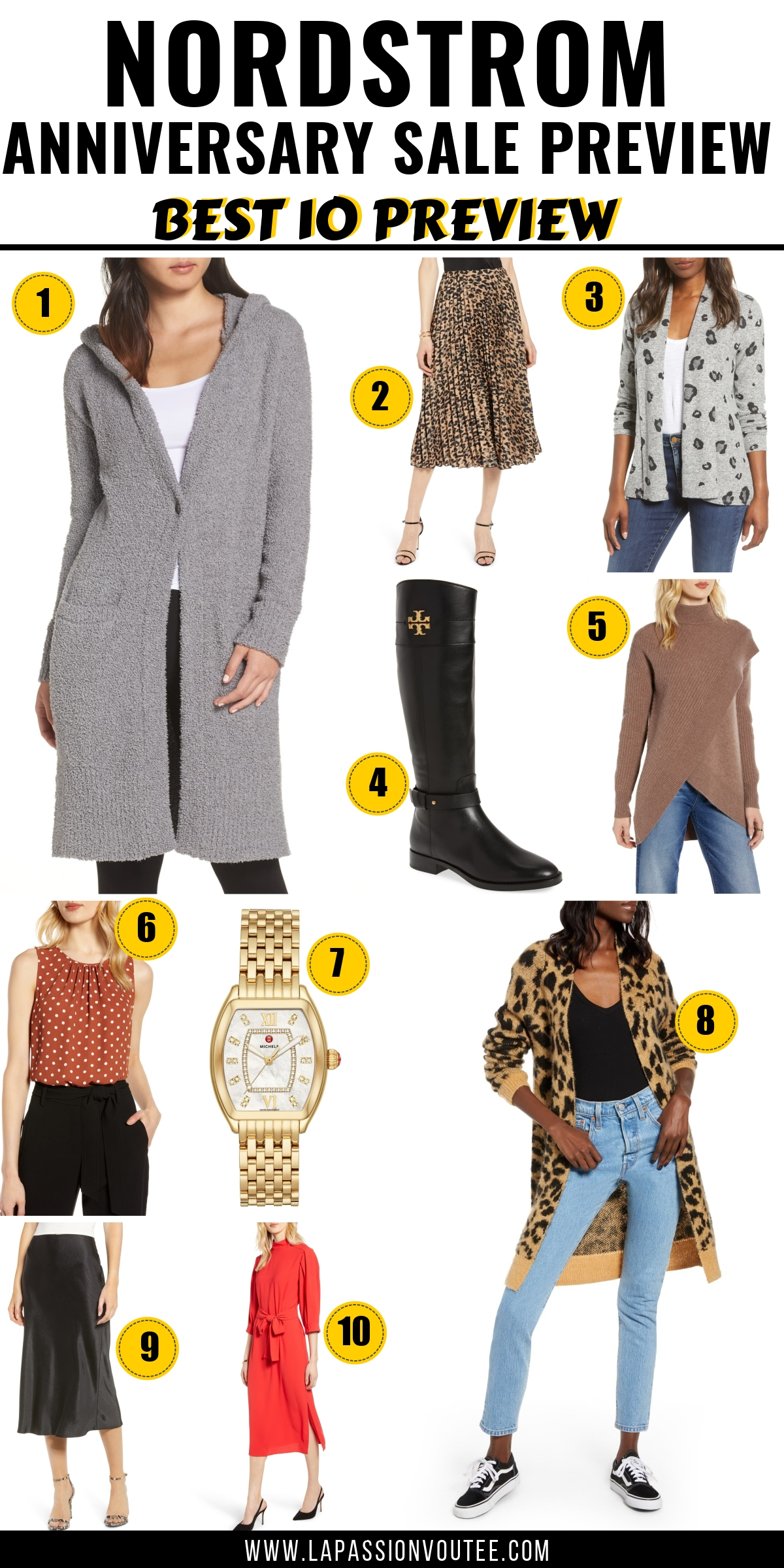 Read this post first for a sneak peek of the 20 MOST-WANTED pieces from the Nordstrom Anniversary Sale 2019 catalog. PLUS everything you need to know about which pieces are likely to sell out during the Anniversary sale Early Access with tips on how to score the best deals on shoes, clothes, bags, jackets and skincare products. Nordstrom Anniversary Sale 2019 Preview Top Picks today