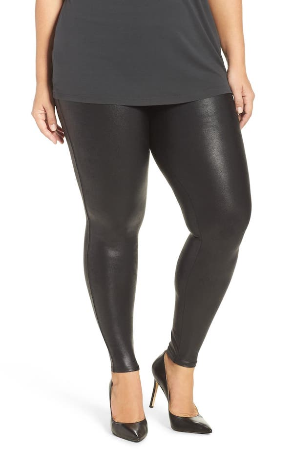 Read this post first for a sneak peek of the 20 MOST-WANTED pieces from the Nordstrom Anniversary Sale 2019 catalog. PLUS everything you need to know about which pieces are likely to sell out during the Anniversary sale Early Access with tips on how to score the best deals on shoes, clothes, bags, jackets and skincare products. Spanx Faux Leather Leggings.