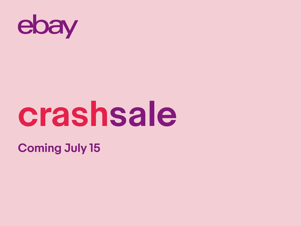 eBay Crash Sale July 15 2019