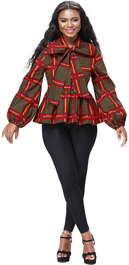 An epic roundup of the best African print blouses to upgrade your wardrobe. Plus details on where to get these African fashion tops right now. From ankara Dutch wax, Kente, to Kitenge and Dashiki. All your favorite styles in one place. Click to see all!