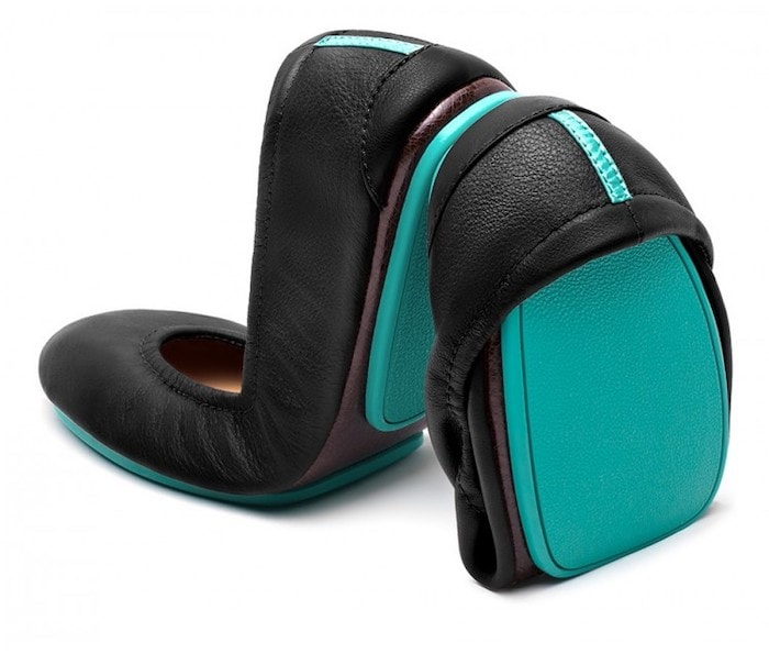 Tieks ballet flats with arch support