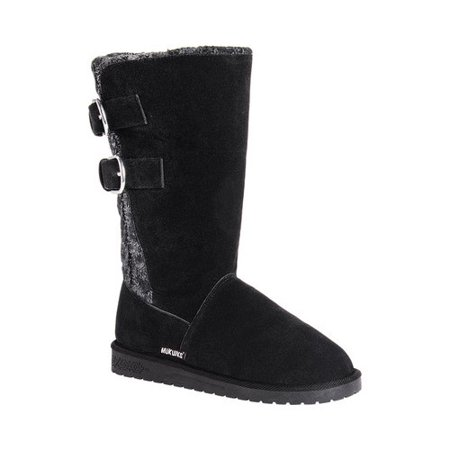 Muk Luks Mid-Calf Winter Boots - #uggboots #wintershoes Check out these epic list of the best quality Ugg look alikes that will keep you toasty warm in the winter for much cheaper. My favorite is...