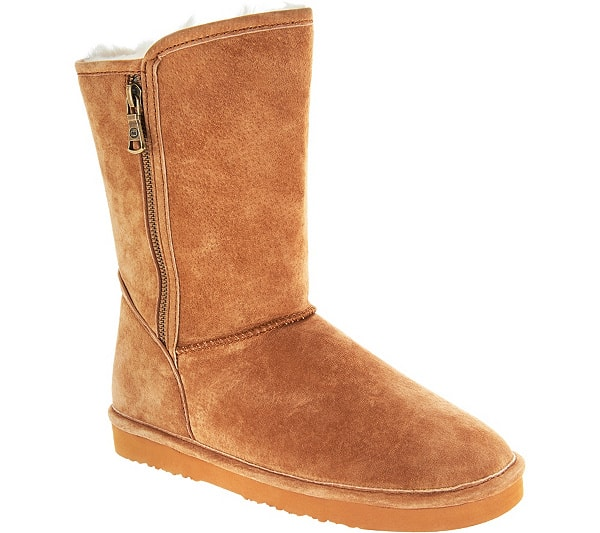 Lamo Water Resistant Suede Boots - #uggs Not ready to splurge on Ugg boots this year? Save $$$ by getting one of these cheap Ugg boots like Bearpaw, CLPP'LI, Dawgs, Ausland, or Dream Pairs. My favorites are #2, #7, and #5! #bearpaw #wintershoes