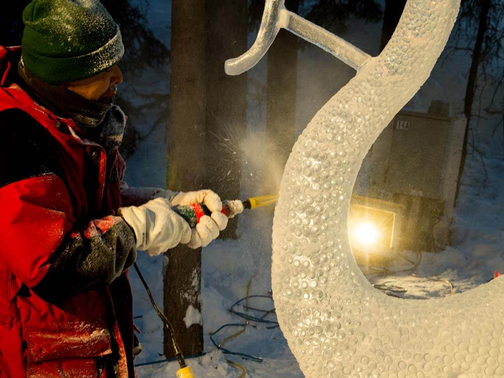 Fairbanks Ice Sculpture Festival
