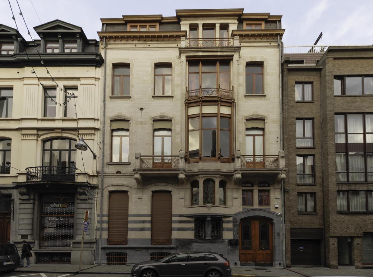 Hôtel Winssinger by Victor Horta