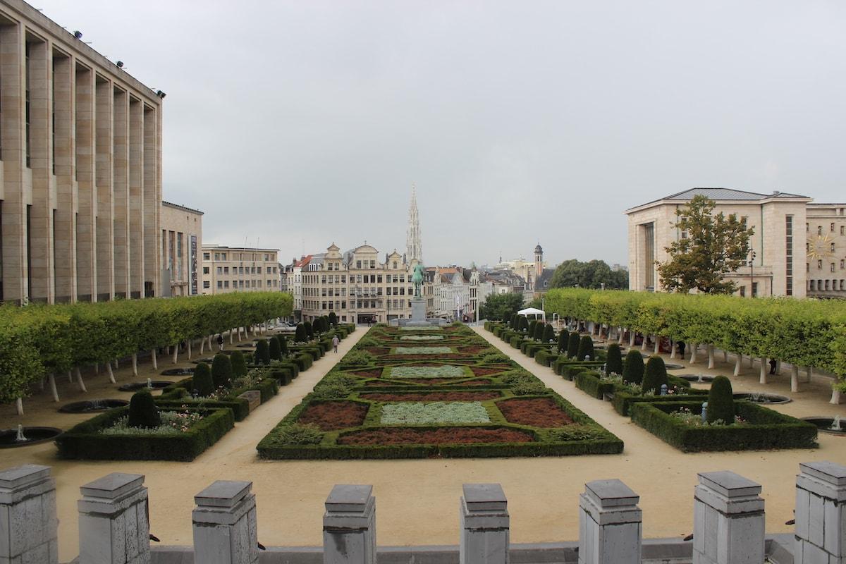 Jardin du Mont des Arts - Brussels