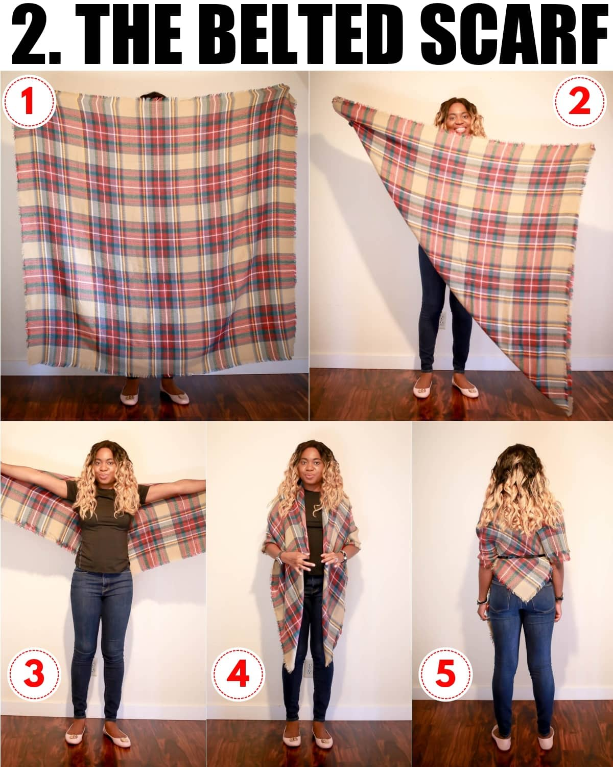 The one trend that I take advantage of every year is the blanket scarf look. Why? Blanket scarves are functional and fashionable even in Alaska! But in truth, learning how to tie a blanket scarf felt like a nightmare. Here are the easiest ways to nail this trend every time.