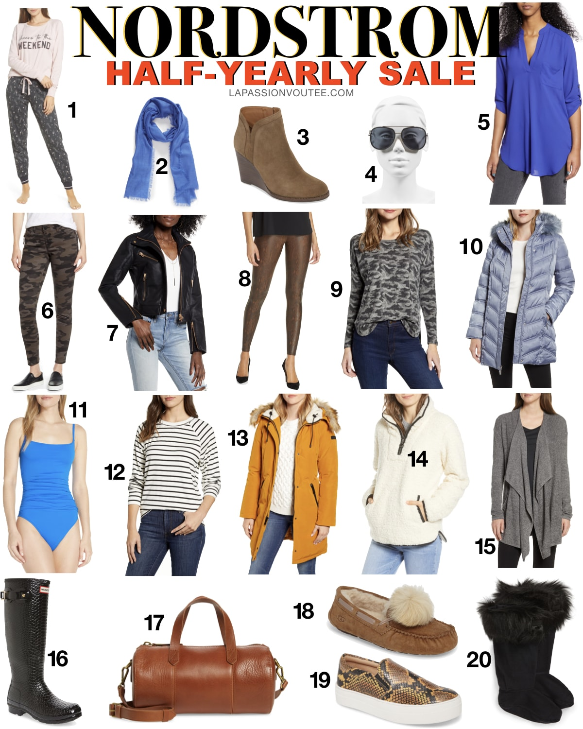 These are the best Nordstrom Half-Yearly Sale picks to seriously consider this year. There's so much good stuff happening during this Nordstrom Sale. These are the best fashion finds from brands like Tory Burch, Barefoot Dreams, UGG, Zella, and more. #nordstrom #nordstromsale