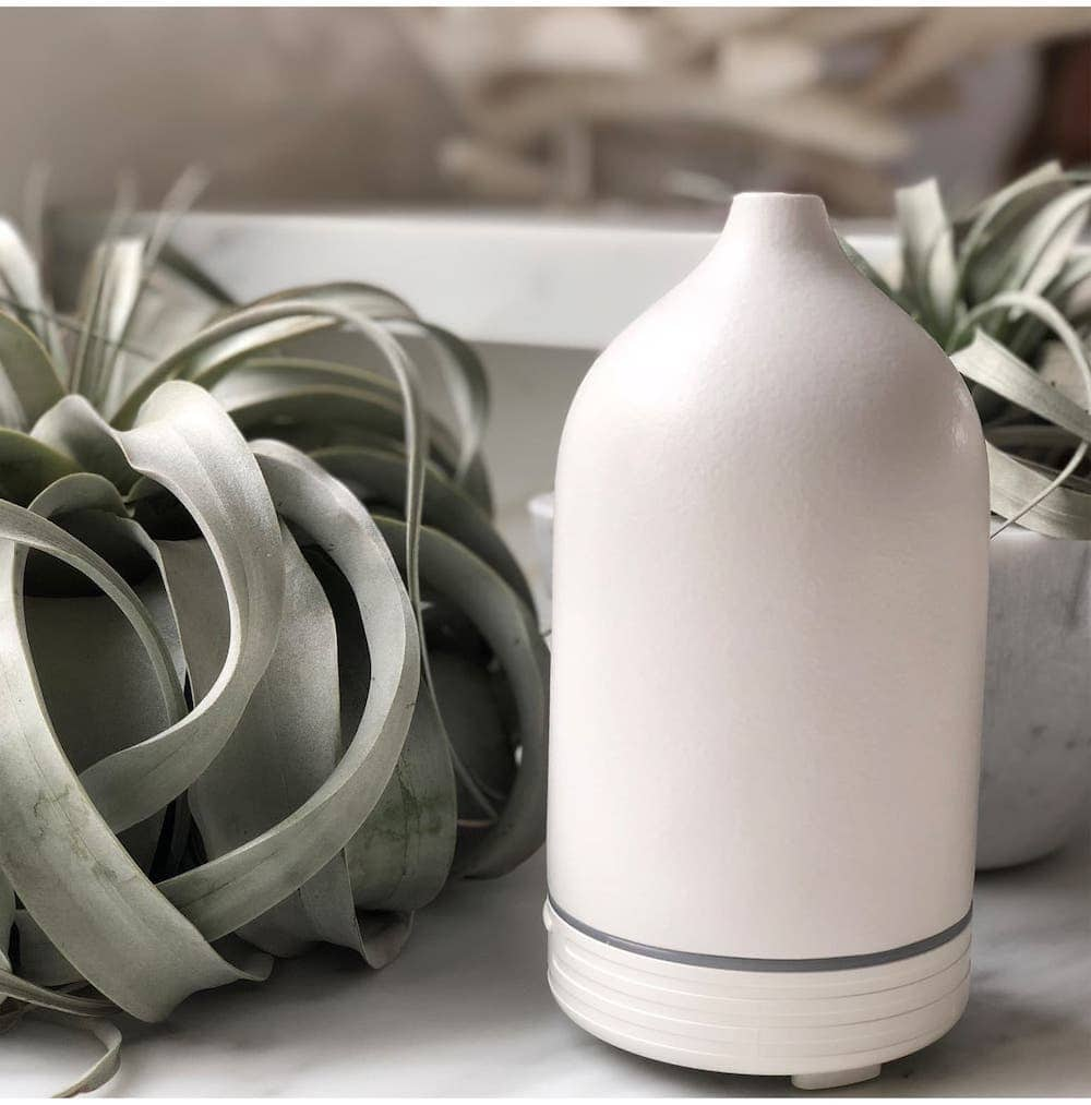 Under $100 white elephant gift ideas. Campo Ceramic Diffuser