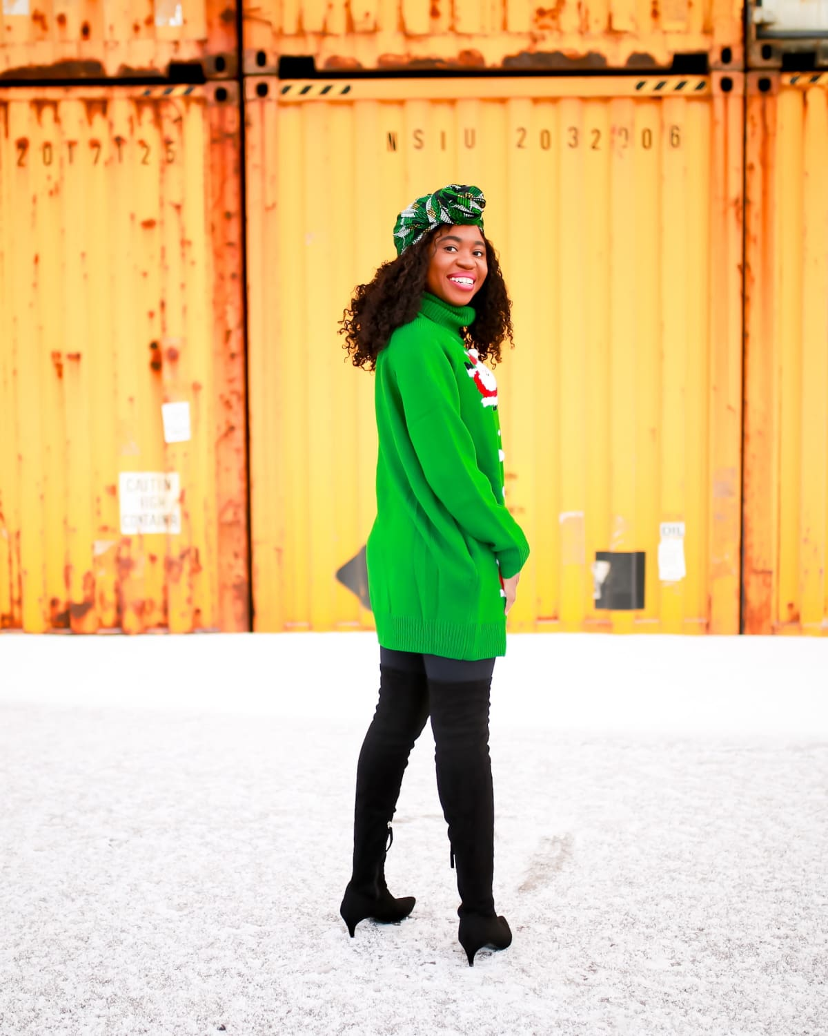 This is the cutest ugly Christmas sweater everyone is talking. Why you should get this cozy holiday dress and where to get it under $40. #sweaterdress #sweatersforwomen