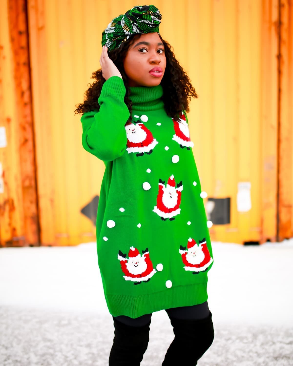 The Cutest Ugly Christmas Sweater Dress This Year!