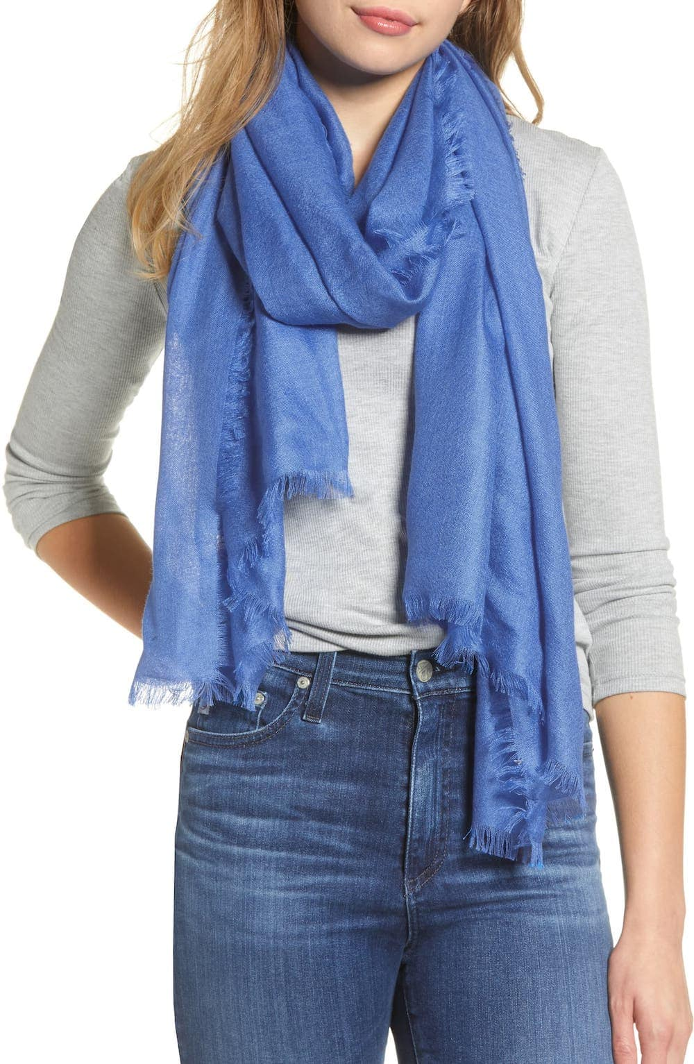 Nordstrom Cashmere & Silk Wrap 2