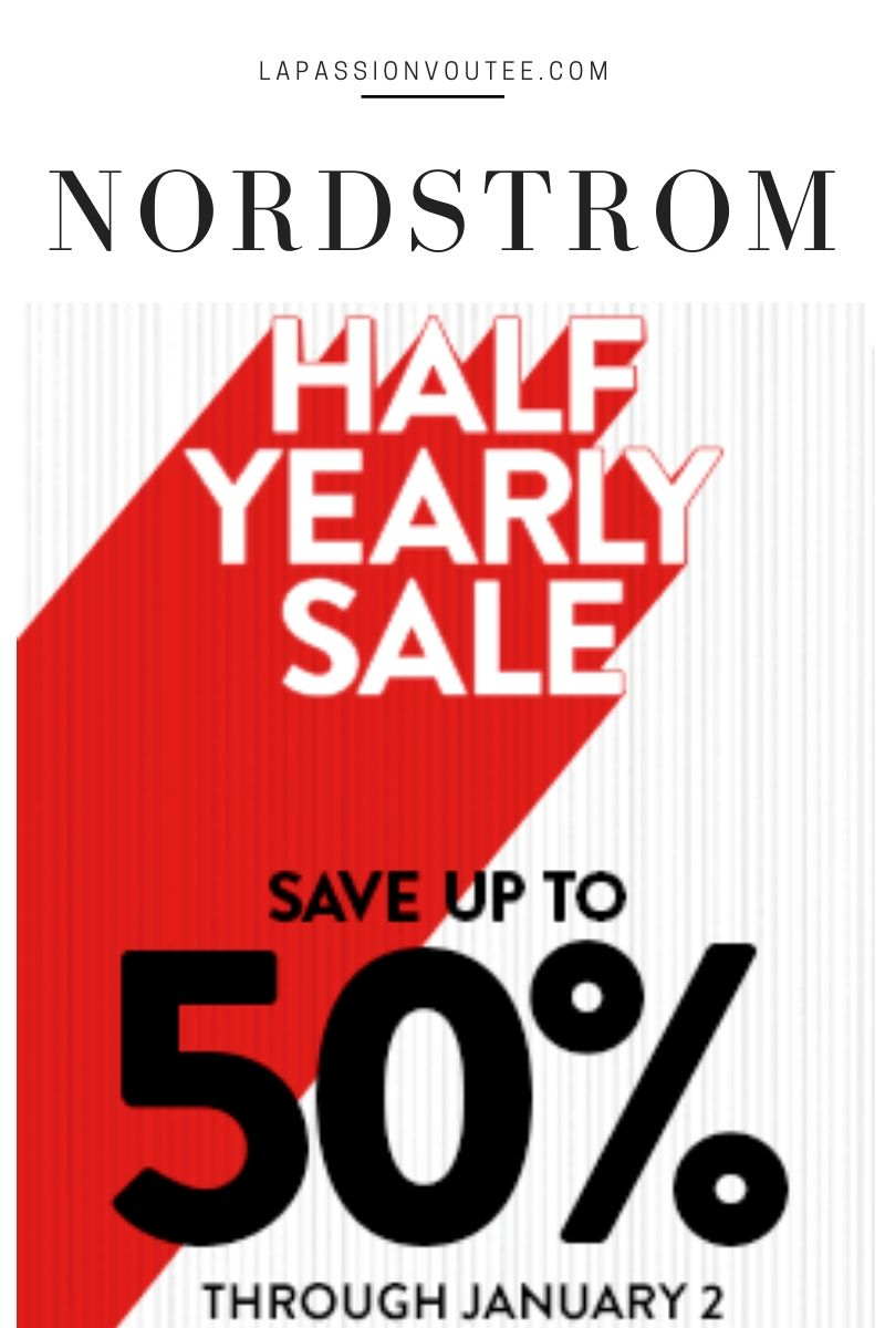 Here's everything you need to know about the 2019 Nordstrom Half-Yearly Sale, after-Christmas sale, to help you score the best discounts right now. Plus dates, details, and Nordstrom Half-Yearly Sale 2019 picks. #nordstromsale #nordstrom