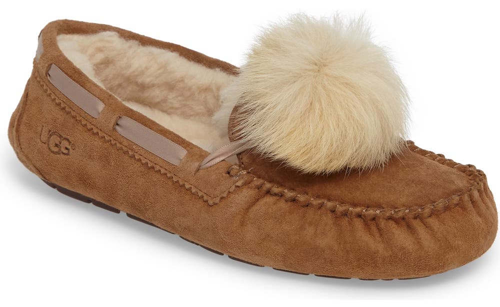UGG Water Resistant Genuine Shearling Slipper