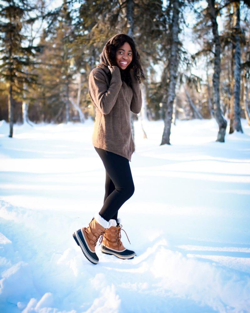 Winter Work Style: Betabrand Sweater + Betabrand Dress Pants