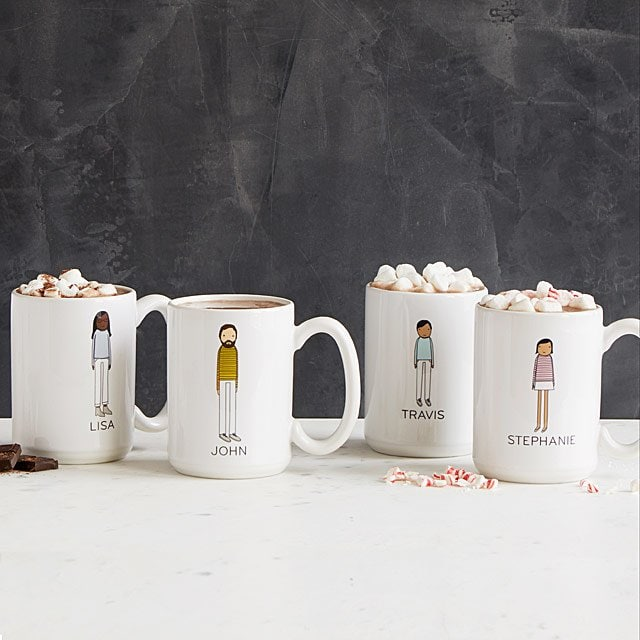 Personalized Family Mugs - Best Valentine's Gifts Ideas