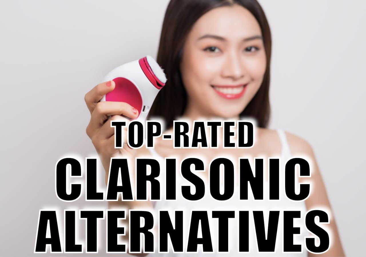 13 best alternatives for Clarisonic! These are the best-selling, top-rated and most affordable Clarisonic alternatives that will elevate your skincare routine. Bye-bye blackheads and pesky acne-flares!