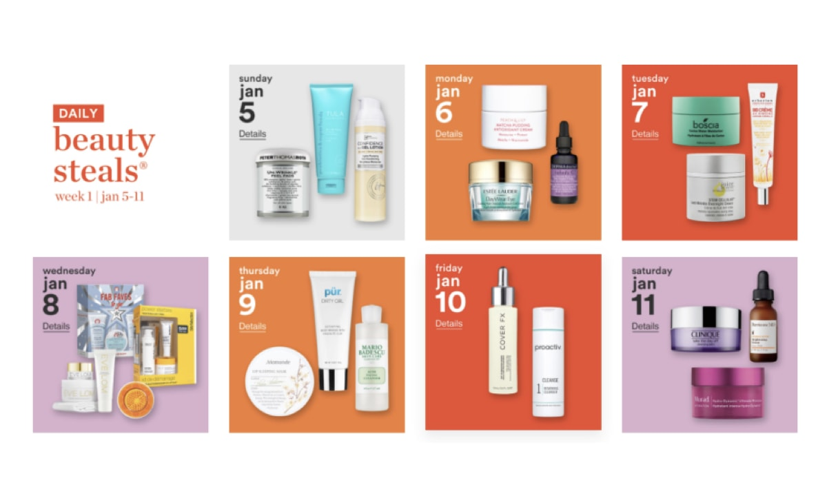 Ulta has unleashed its annual winter Love Your Skin sale event offering 50% off amazing brands January 5th through January 25th.