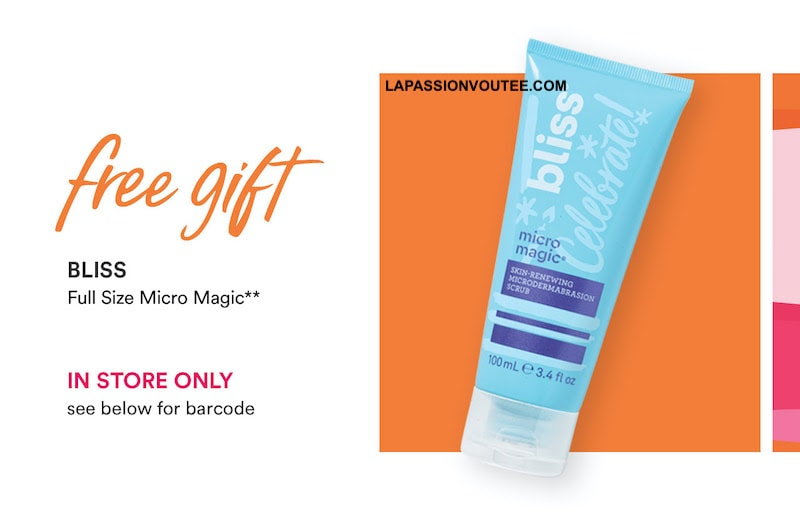 Bliss Micro Magic skin-renewing Microdermabrasion Scrub - Ulta 2020 March Birthday Freebie