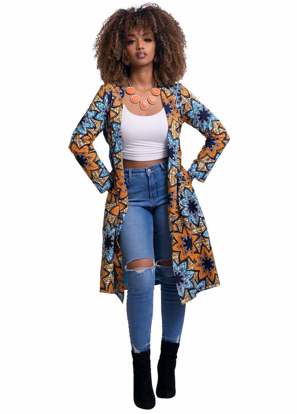 African Kimono Jacket by Oludan