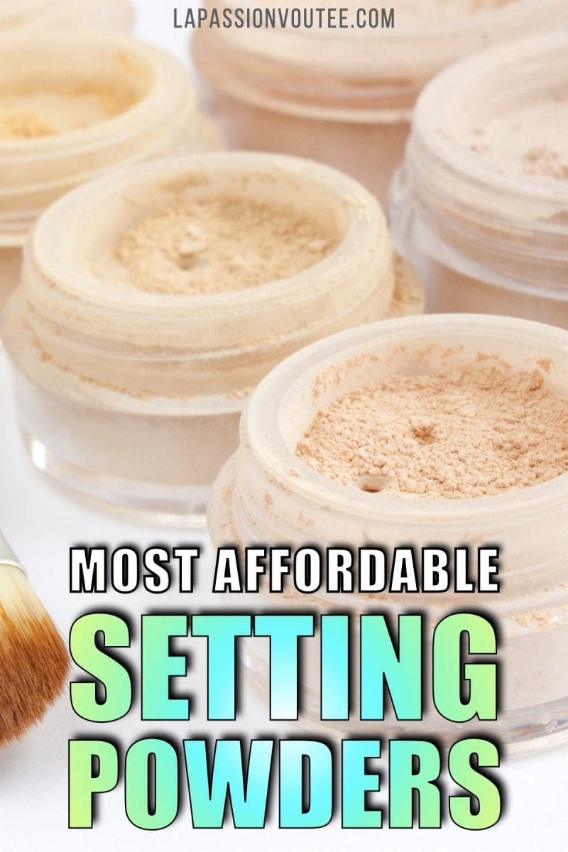 The Absolute Best Drugstore Setting Powders