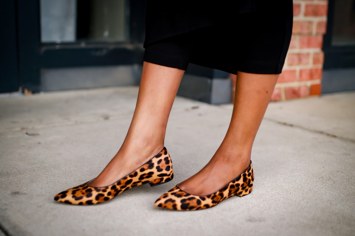 Everyone is talking about this J Crew pointed-toe flats in leopard calf hair. Is it worth the investment?