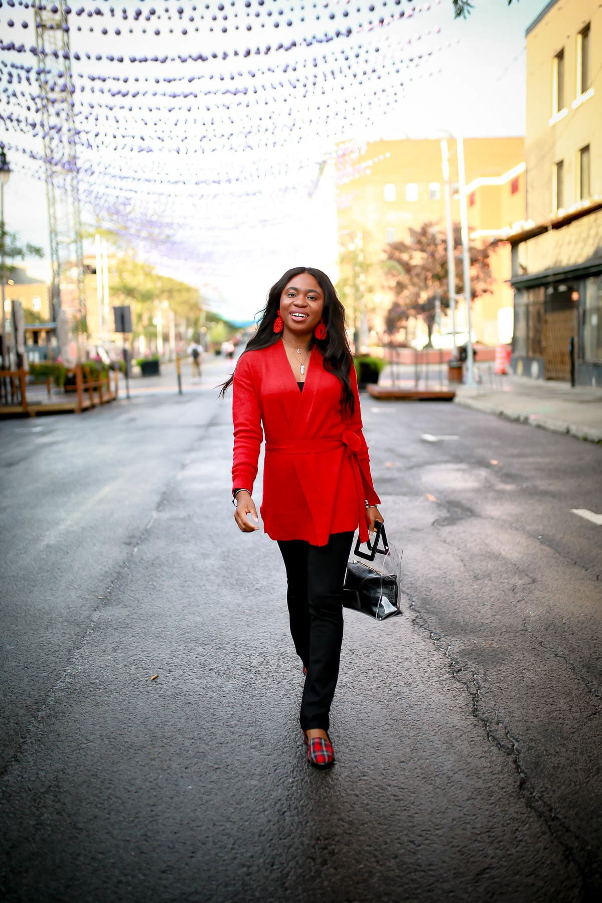 Looking for a comfortable, stylish yet cozy work style outfit? Betabrand yoga dress pants are probably one of the best in the market for career women. Fashion and style blogger, Louisa shares how to pair this work style with items you already have in your closet to avoid looking frumpy. This post covers work style, dress pants, office style outfit, Victoria Emerson