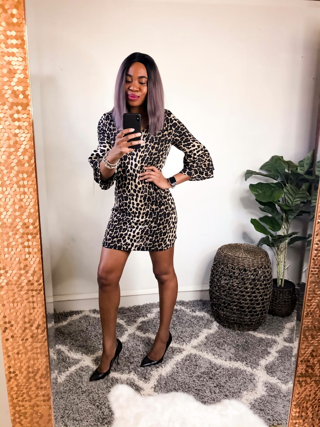 Leopard Cocktail Dress