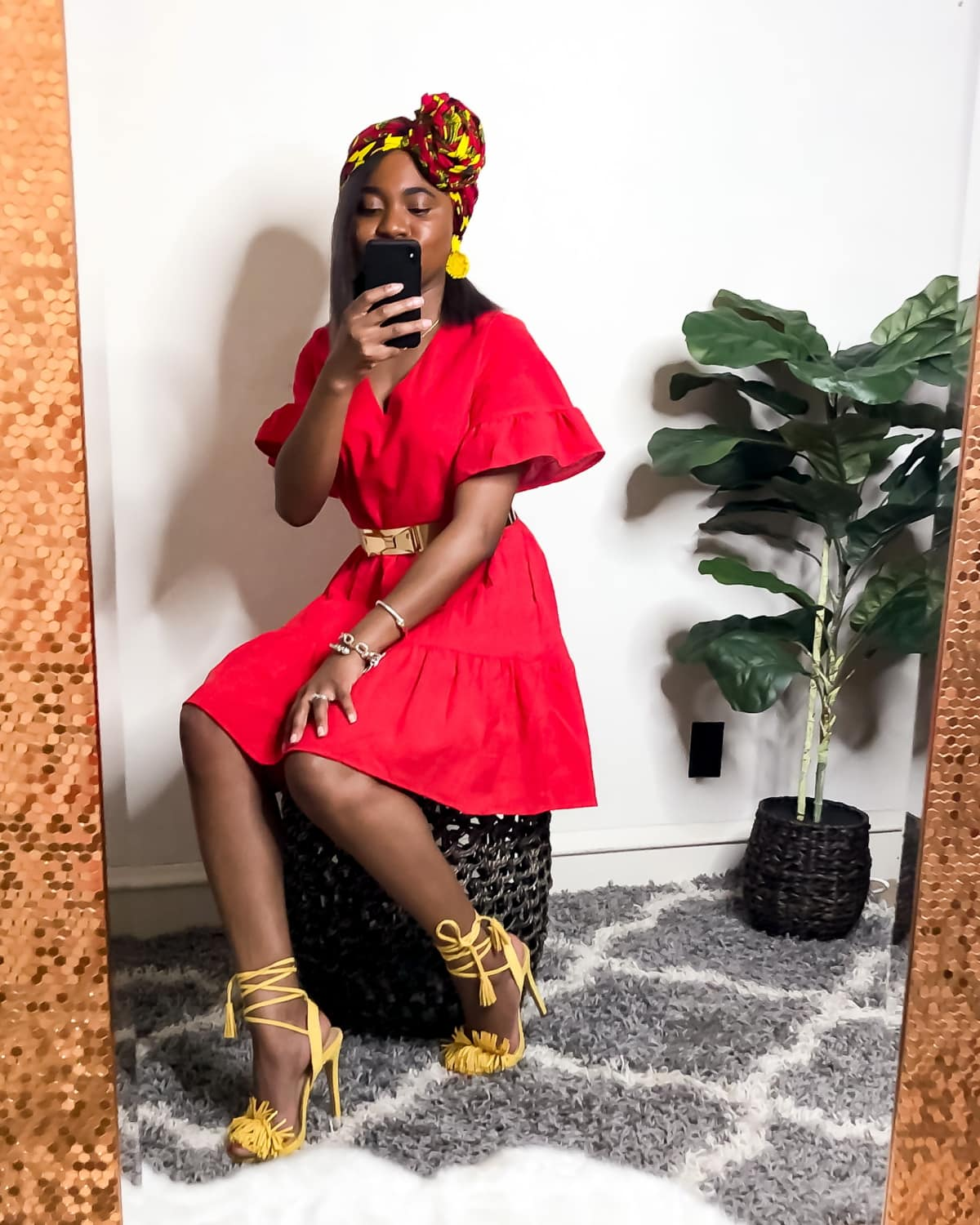 Whether you're looking for a stylish outfit for work or play, you'll love this on-trend red dress outfit ideas to take you from work or brunch to date night and more.