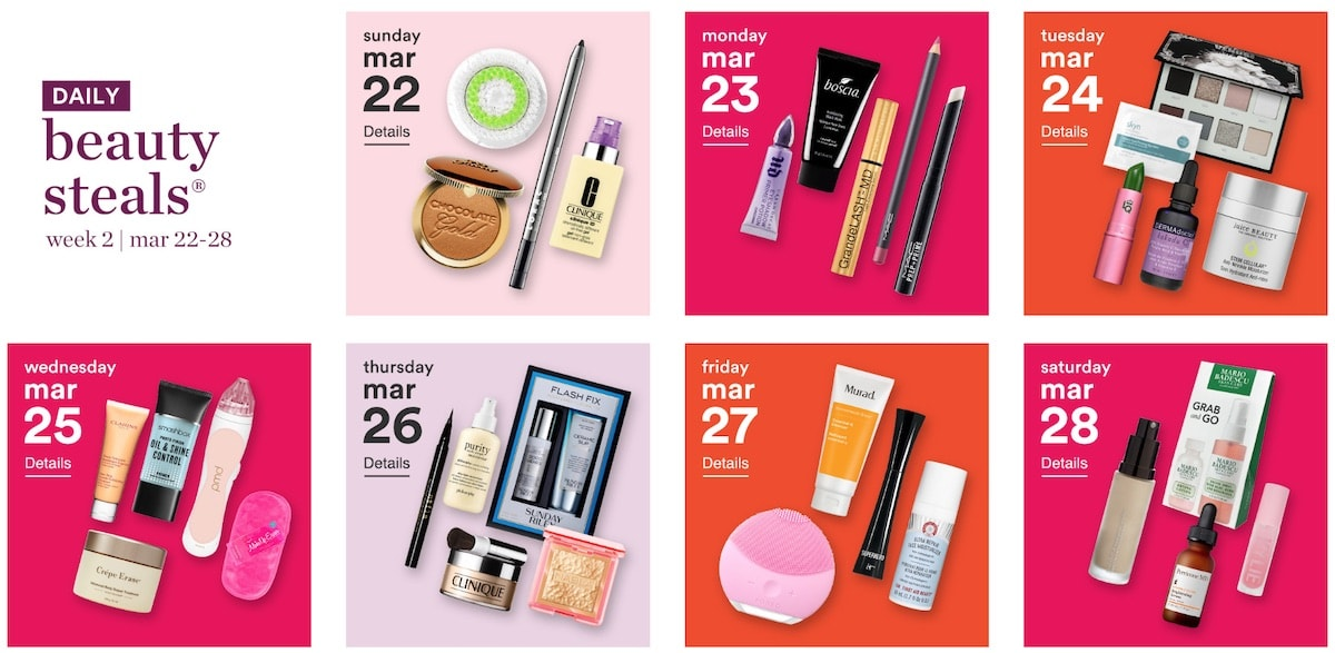 This year's Ulta 21 Days of Beauty sale runs March 15th - April 4th, 2020. You can save up to 50 percent on beauty essentials and products that rarely ever go on sale. Discount include beauty brands like Dermalogica, Exuviance, Tula, Elemis, Juice Beauty and more.