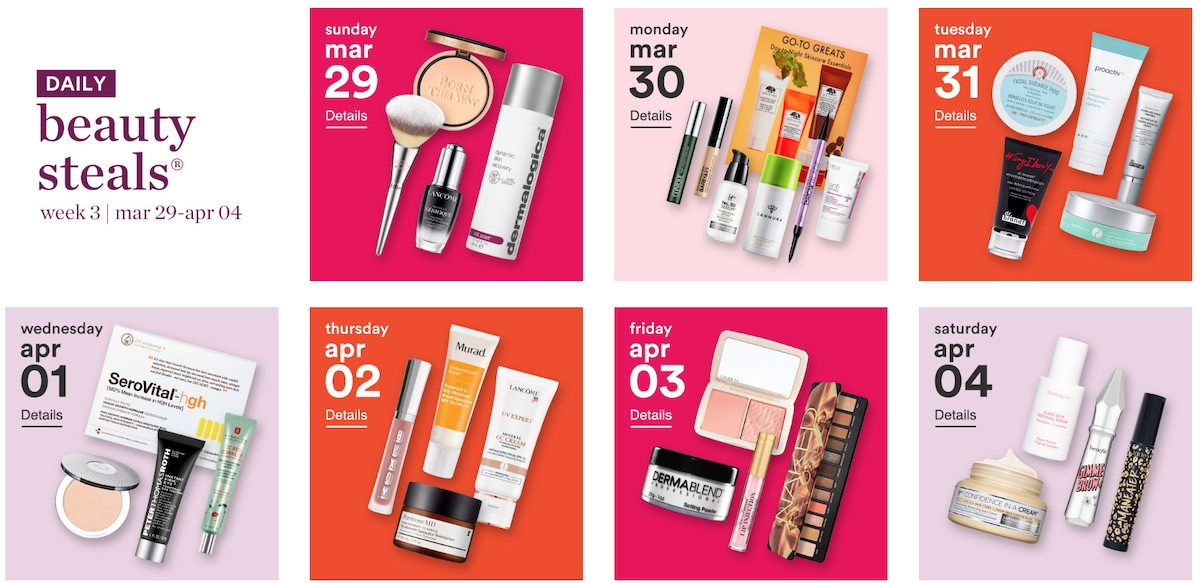 One of beauty's most-anticipated semi-annual sale is back this year with the Ulta 21 Days of Beaty March 2020 sale. Now through April 4th, you can save up to 50% on beauty essentials and cult-favorites like Anastasia Brow Wiz, Maria Badescu Peptide Serums, Strivectin face cream and more during the 24-hour flash sale.