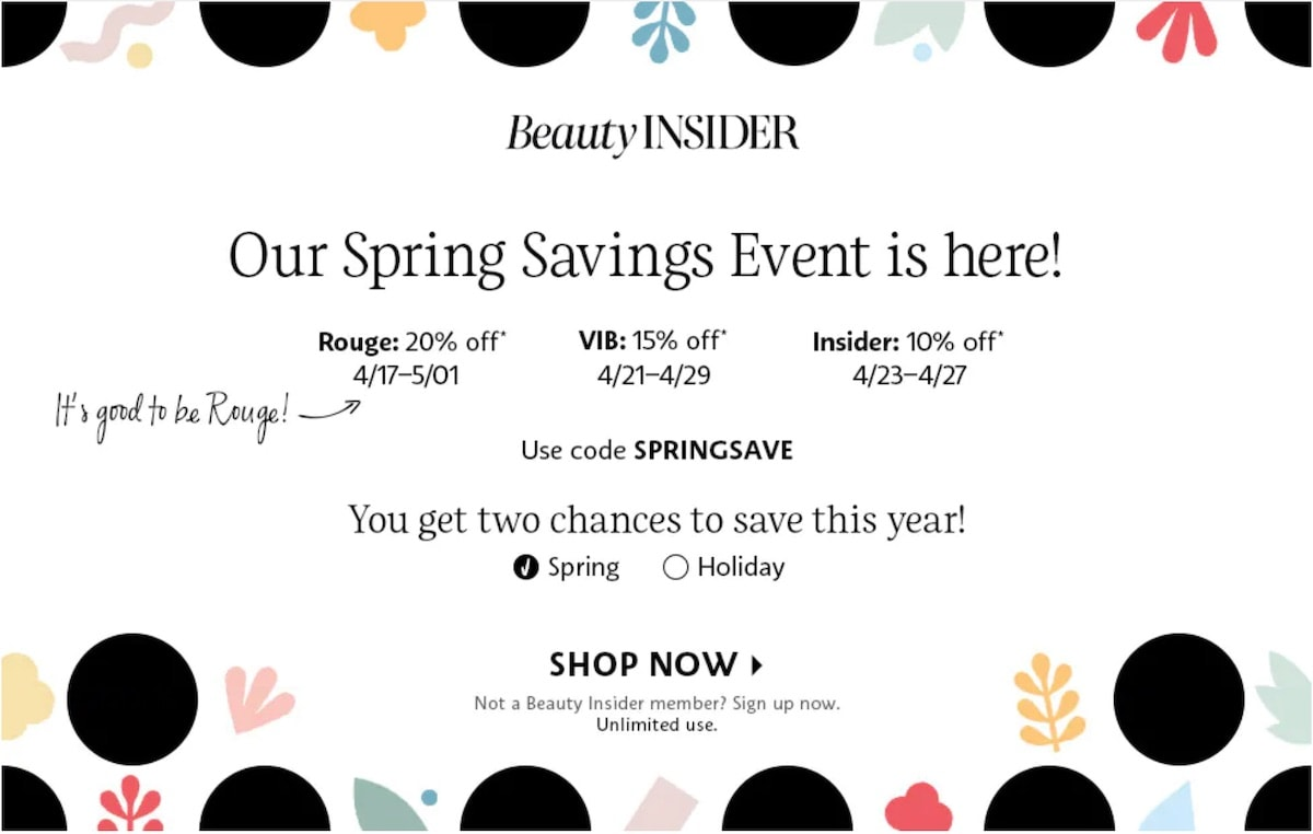 This year's spring sale, the Sephora VIB Sale 2020 features big savings on beauty favorites and everyday essentials for a limited time. Read this post first before you hit the checkout button (dates, discount codes, shopping tips + top recommendations).