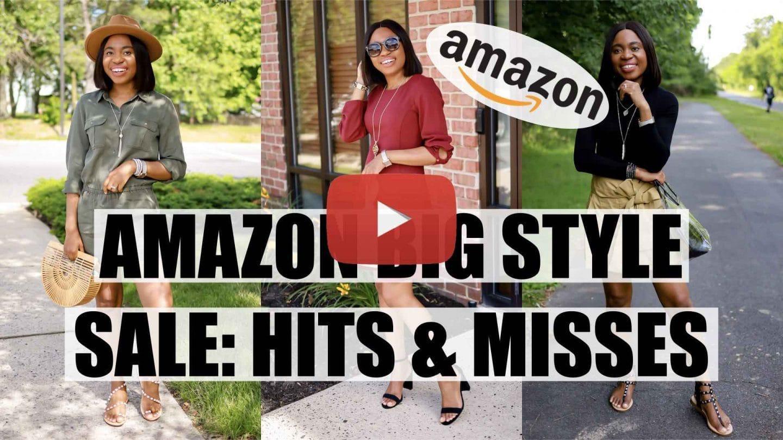 2020 Amazon BIG Style Sale YouTube Video