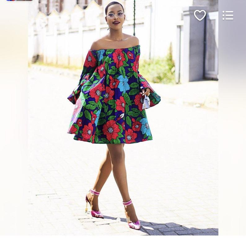 Another amazing summer inspired African dress