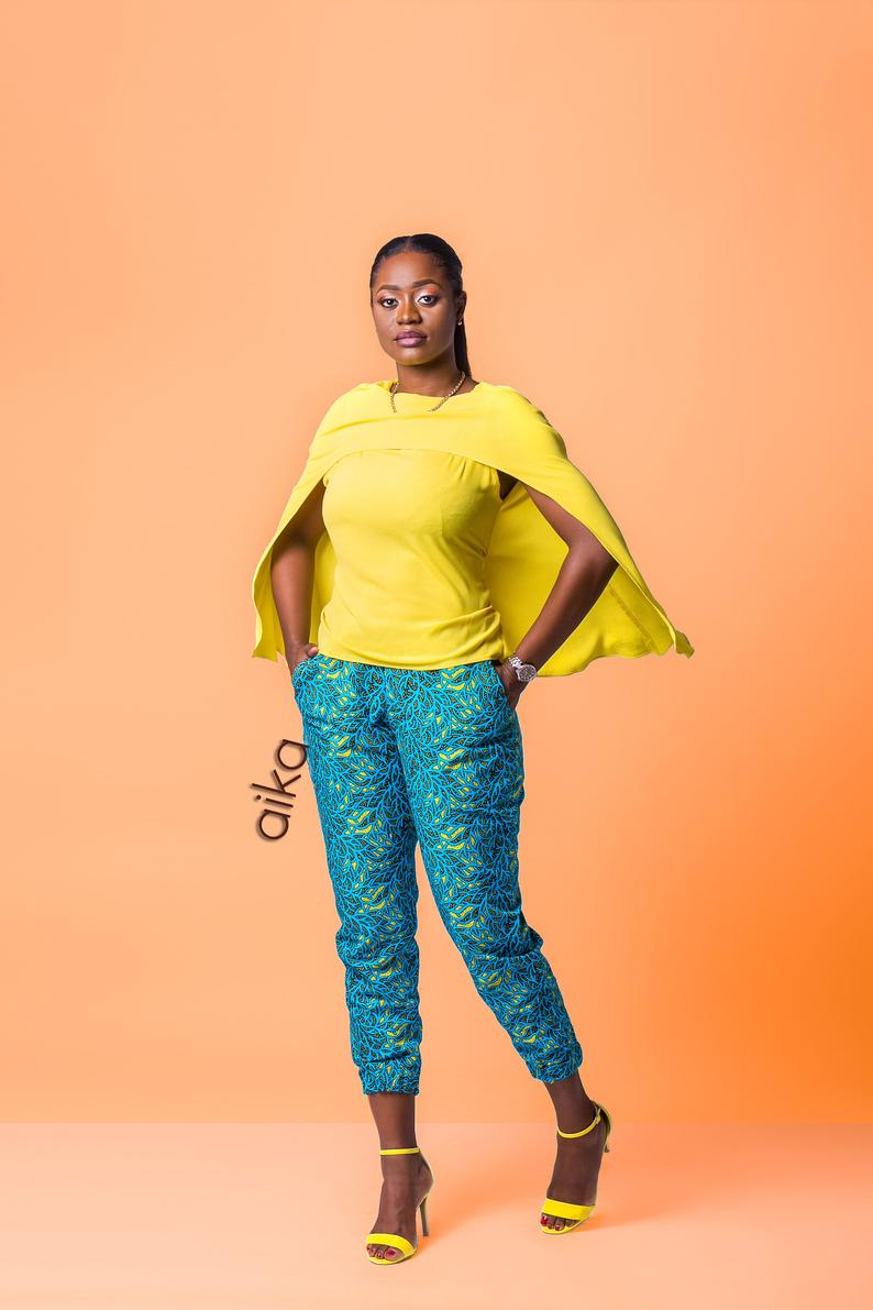 A beautifuyl summer African pant for every woman