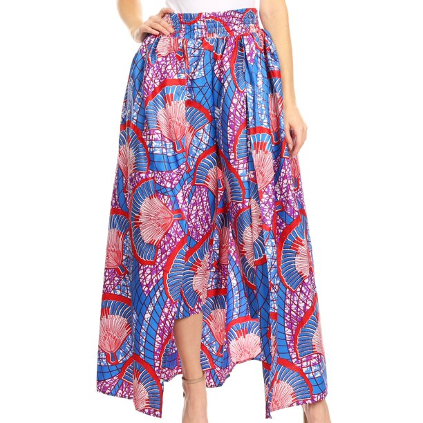 An amazing capri african print pant from walmart