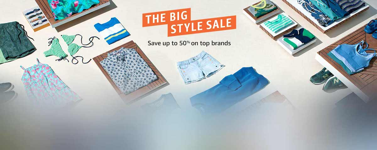 The Big Style Sale by Amazon starts now! Here's your exclusive sneak peek.