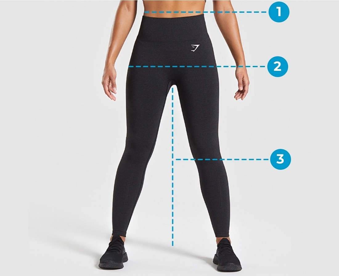 How to sixe your Gymshark Leggings