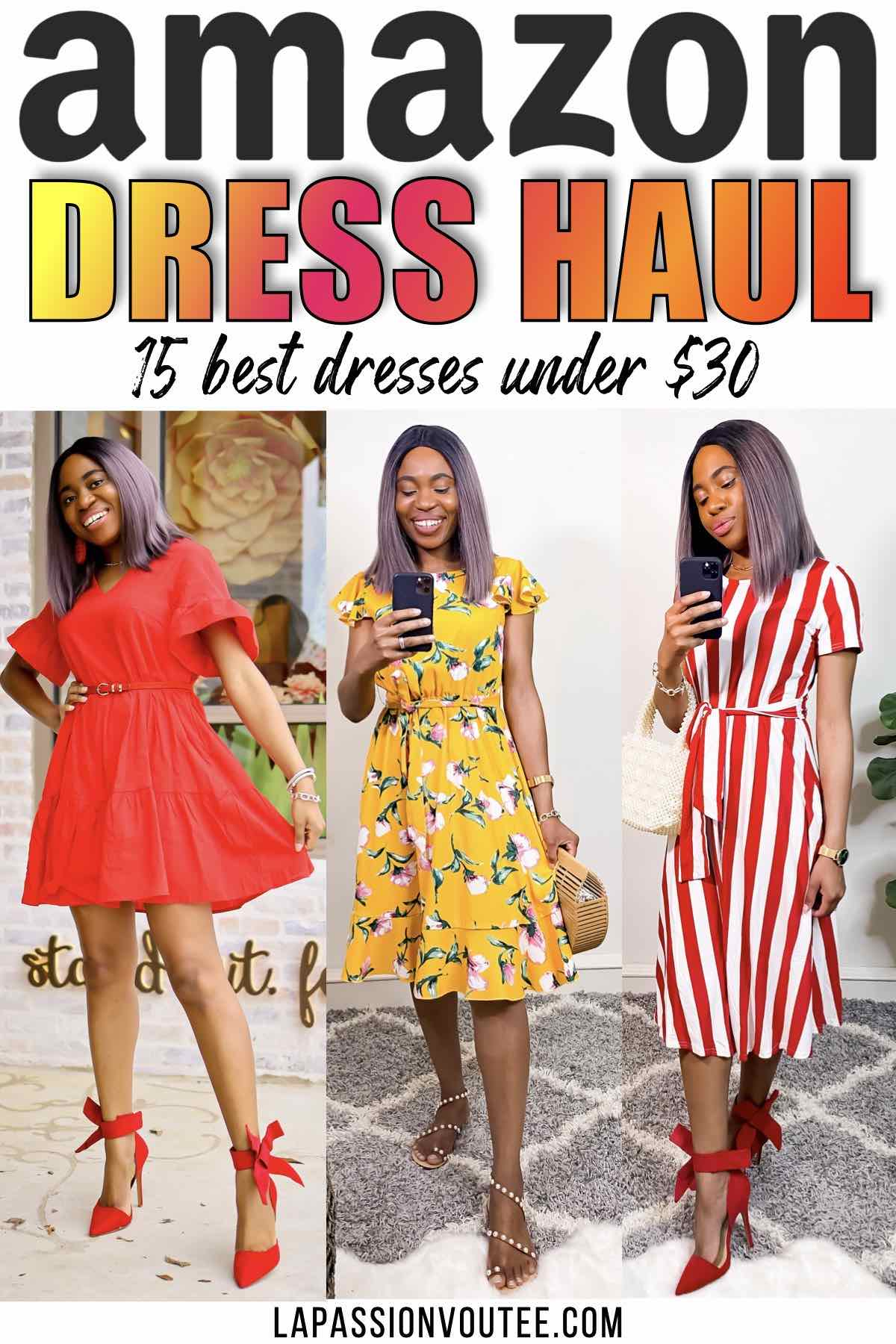 I spent my money so you wouldn't and rounded up the best affordable dresses from Amazon you can wear right now and for years to come. #6 and #13 are my favorites.