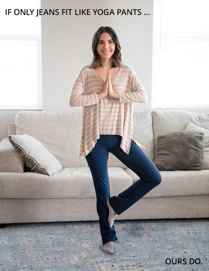 Do Betabrand yoga denim REALLY fit like yoga pants?