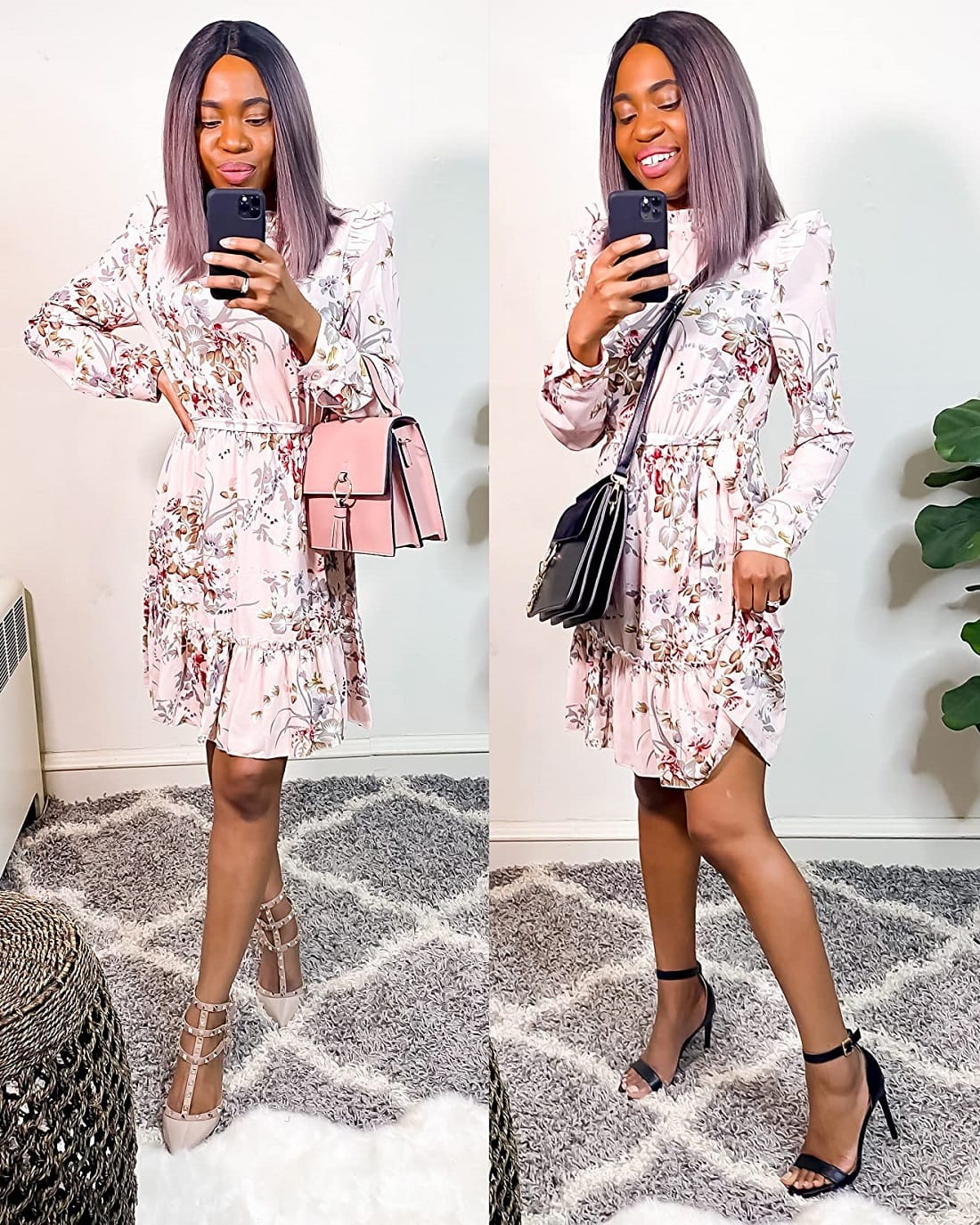 Does Amazon REALLY have good dresses? I spent my money so you wouldn't and rounded up the best Amazon dresses under $30 in this Amazon dress haul & video try-on. A chic and fresh floral pink dress from Amazon.